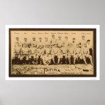 New York Giants Baseball 1913 Poster