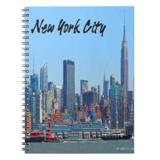 New York Gifts Notebook