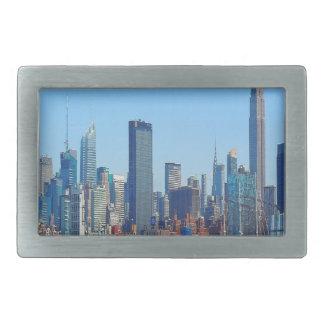 New York Gifts Rectangular Belt Buckle
