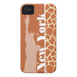 New York; Giraffe; Animal Print iPhone 4 Cases