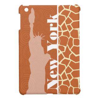 New York Giraffe Animal Print iPad Mini Cover