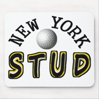 New York Golf Stud Mouse Pad