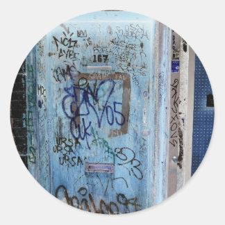 New York Graffiti Classic Round Sticker