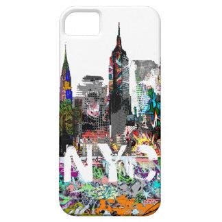 New York graffiti iPhone 5 Case