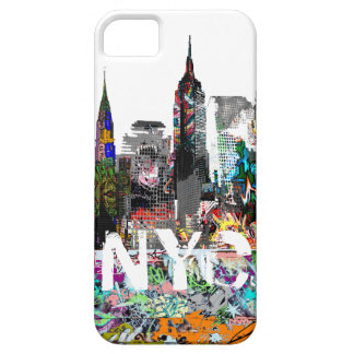 New York graffiti iPhone 5 Cover
