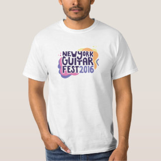 New York Guitar Festival 2016 T-Shirt