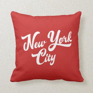 New York Handwritting Cushion
