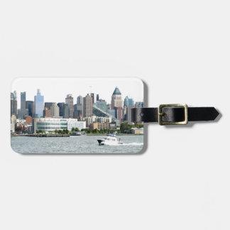 New York Harbor Luggage Tag