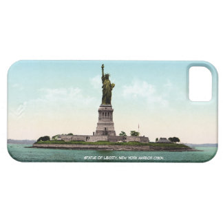 New York Harbor, Statue of Liberty iPhone 5 Case
