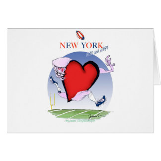 New York Head and Heart, tony fernandes Card