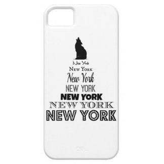 New York Howling, Dog Coyote, Wolf - I love NY Case For The iPhone 5
