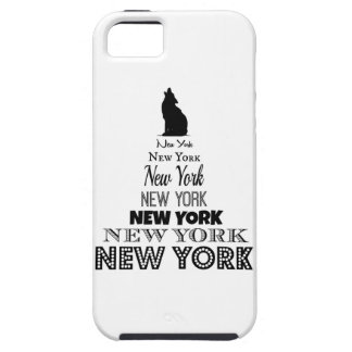 New York Howling, Dog Coyote, Wolf - I love NY iPhone 5 Cover