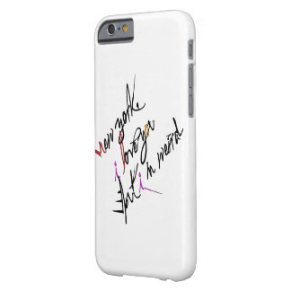 New York I love you but I'm weird Barely There iPhone 6 Case