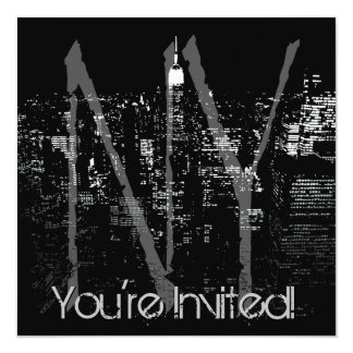 New York Invitations Personalized New York RSVP