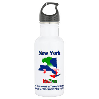New York Italian custom 532 Ml Water Bottle