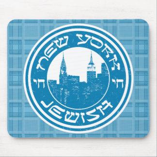 New York Jewish Mousemat