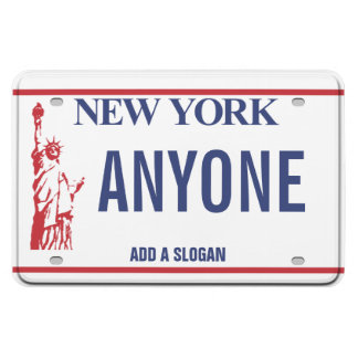 New York License Plate (personalized) Rectangular Photo Magnet
