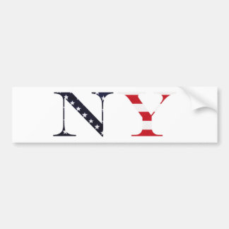 New York Logo Bumper Sticker