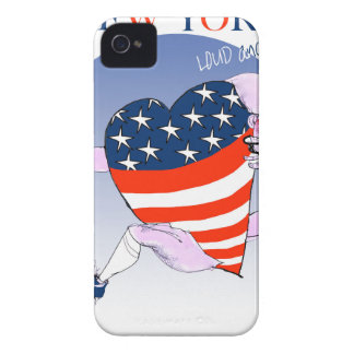 new york loud and proud, tony fernandes iPhone 4 Case-Mate cases