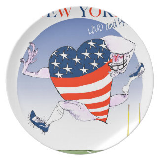 new york loud and proud, tony fernandes plate