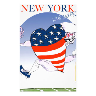 new york loud and proud, tony fernandes stationery