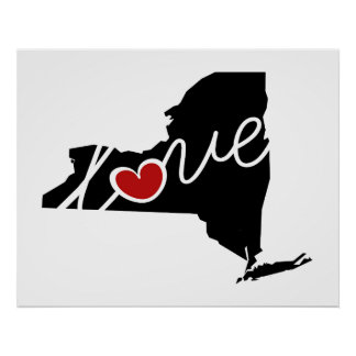 New York Love!  Gifts for NY Lovers Posters