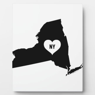 New York Love Plaque
