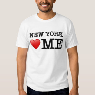 New York Loves Me, I love T Shirt
