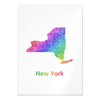 New York Magnetic Invitations