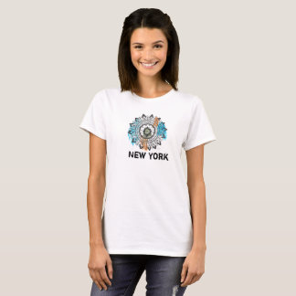 New York Mandala Artsy Chic T-Shirt