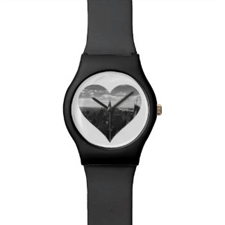 New York Manhattan Empire State Heart Watch