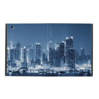 New-York Manhattan Night Skyline iPad Folio Case