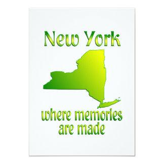 New York Memories Custom Announcement