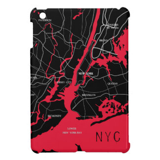 New York, Modern, Map iPad Mini Case