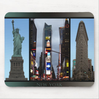 New York Mousepad New York Souvenir Landmarks Gift