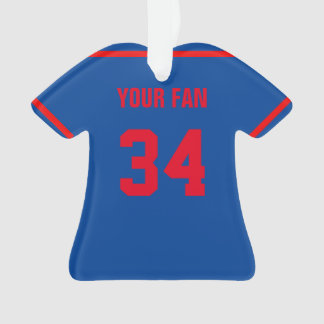 New York National Baseball Jersey Ornament