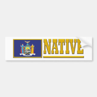New York Native Bumper Sticker