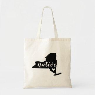 New York Native State Tote Bag