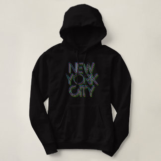 New York Neon Lights Hoodie