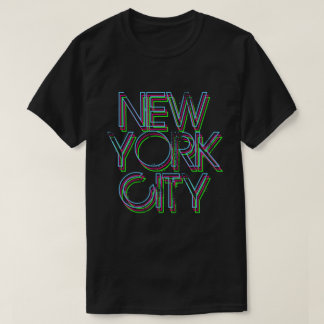New York Neon Lights T-Shirt