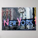 New York neon Poster
