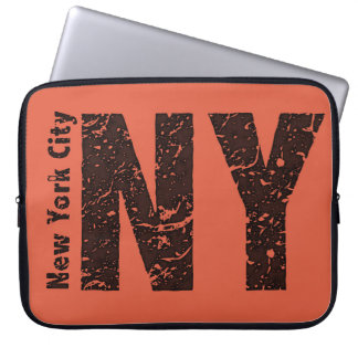 New York Neoprene Laptop Sleeve 15 inch