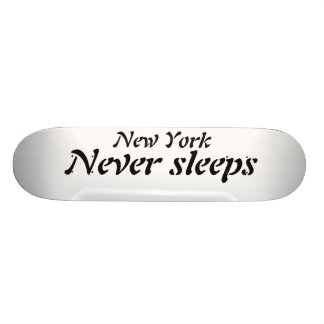 New York Never sleeps [skateboard deck] Skateboard Deck