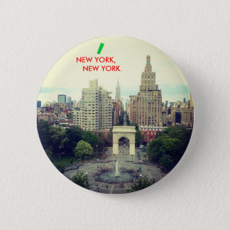 NEW YORK, NEW YORK button