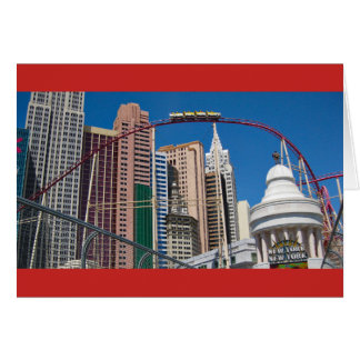 New York New York Coaster Las Vegas Card