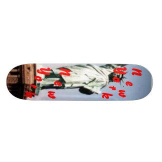 New York New York Custom Skate Board