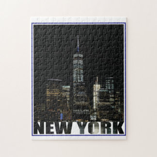 New York New York Jigsaw Puzzle