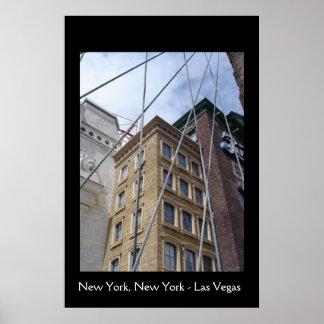 New York New York - Las Vegas Posters