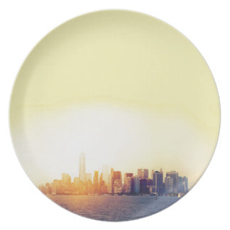 New York New York Party Plates