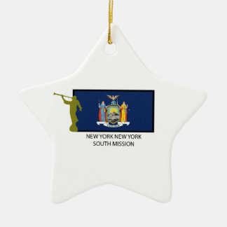 NEW YORK NEW YORK  SOUTH MISSION LDS CTR CERAMIC ORNAMENT